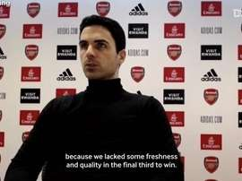 Arteta disappointed by Palace draw, discusses Özil's Arsenal situation. DUGOUT