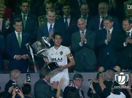 Il Valencia vince la Coppa del Re. Dugout