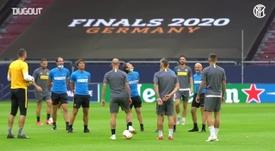 Inter de Milão e Getafe se enfrentam pelas oitavas de final da Liga Europa. DUGOUT