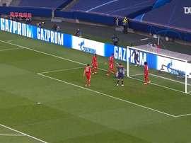 Manuel Neuer made a terrific save to deny Neymar. DUGOUT