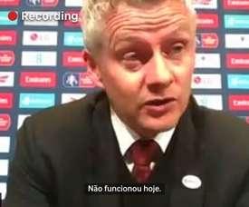 Solskjaer admite falha de De Gea em eliminação do United. DUGOUT