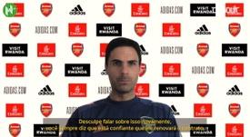 Arteta fala sobre o futuro de Aubameyang no Arsenal. DUGOUT