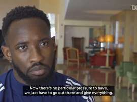 Moussa Dembele spoke ahead of the match. DUGOUT