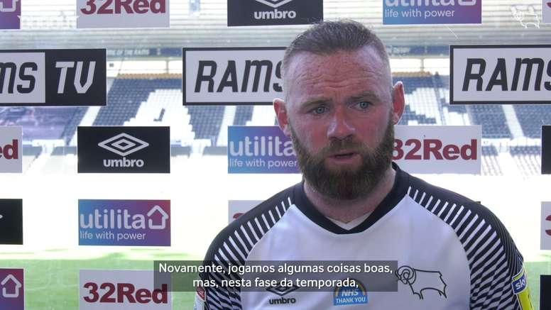 Rooney não perde a esperança. DUGOUT