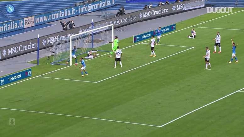 Résumé Naples 4-1 Atalanta en 2020. Dugout