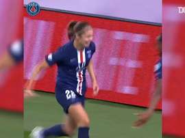 Signe Brunn's goal for PSG set up an all French semi in the Women's CL. DUGOUT