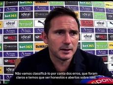 Lampard fala de falha de Thiago Silva em estreia no Chelsea. DUGOUT