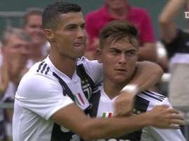 Primeiro gol de Cristiano Ronaldo pela Juventus. DUGOUT