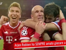 Robben e il rapporto con Londra. Dugout