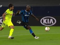 Inter beat Getafe 2-0. DUGOUT