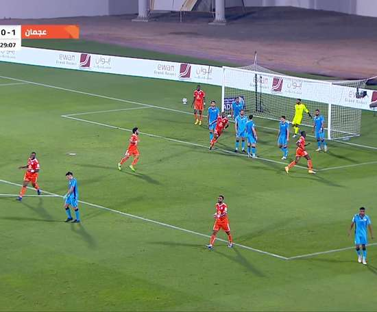 Highlights: Ajman 0-0 Baniyas. DUGOUT