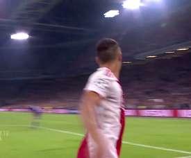 Gols de Tadic pelo Ajax em 2018/19. DUGOUT