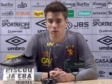 Luan Polli fala sobre volta após suspensão e expectativa para duelo com Atlético-GO. DUGOUT