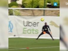 Luis Henrique se destaca em treinos do Marseille antes de estreia. DUGOUT