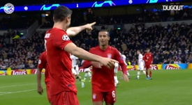 I tre gol del Bayern. Dugout