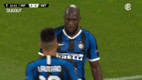 Lukaku aterrizó en el Inter en el verano de 2019. DUGOUT