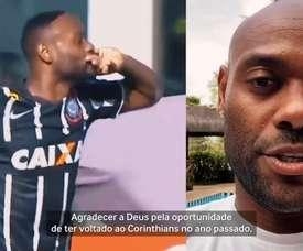 Vagner Love, aos 35 anos, teve acordo por rescisão de contrato com o Corinthians. DUGOUT