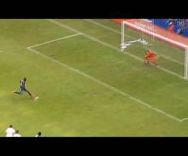 Adrián Gabbarini's penalty saves. DUGOUT