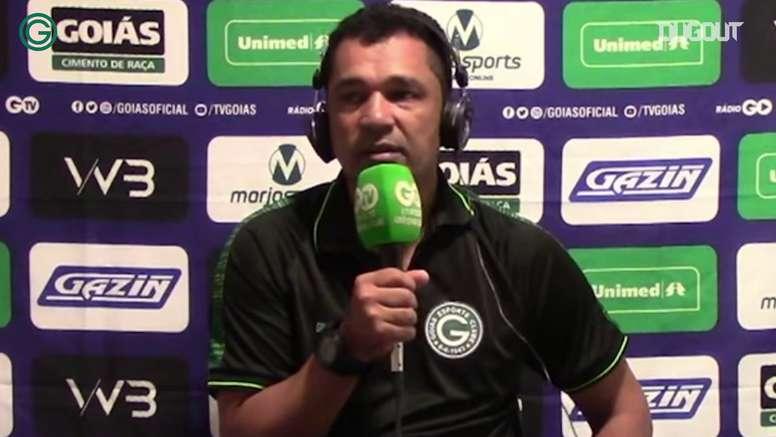Glauber Ramos descarta lesões graves e fala sobre oportunidades ao jovens no Goiás. DUGOUT