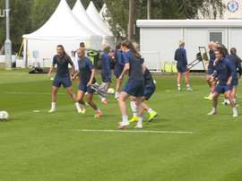Chelsea Women were back training. DUGOUT