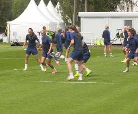 Chelsea Women were back training. DUGOUT