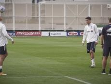 Na Juventus, Cristiano Ronaldo e Morata revivem parceria do Real Madrid. DUGOUT