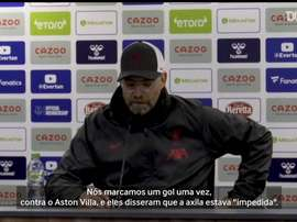 Klopp critica VAR após empate entre Liverpool e Everton. DUGOUT