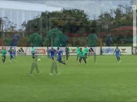 Veja os gols do jogo-treino em que o Flamengo goleou o Olaria. DUGOUT