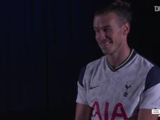 Gareth Bale fala após seu retorno ao Tottenham. DUGOUT