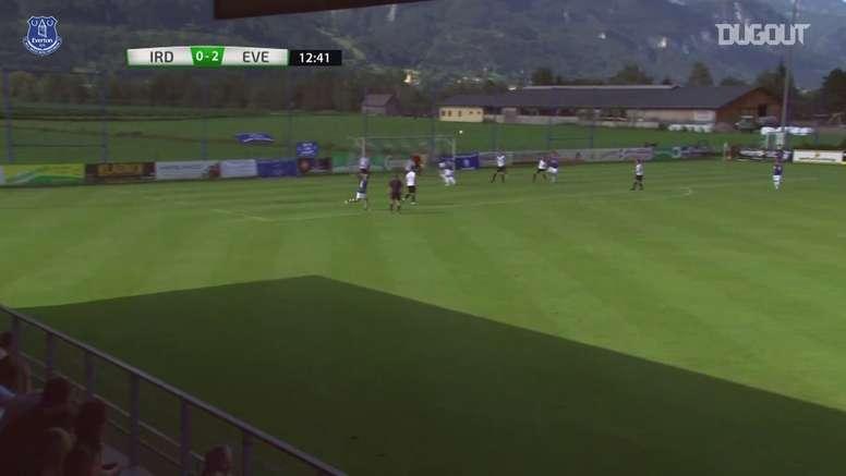 Everton goleia ATV Irdning por 22 a 0 em amistoso. DUGOUT