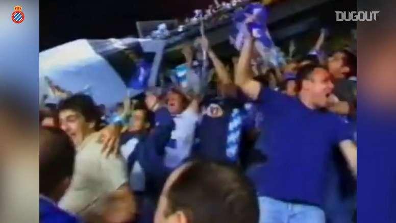 El Espanyol ganó la Copa en 2000. DUGOUT