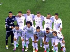 La finale di Champions a Milano. Dugout
