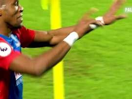 Wilfired Zaha, estrella en el Crystal Palace. DUGOUT