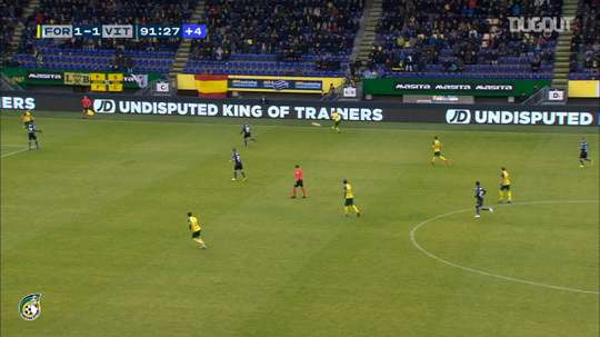 Finn Stokkers gave Sittard three points over Vitesse back in 2019. DUGOUT