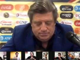 Miguel Herrera analizó la victoria ante Santos Laguna. DUGOUT