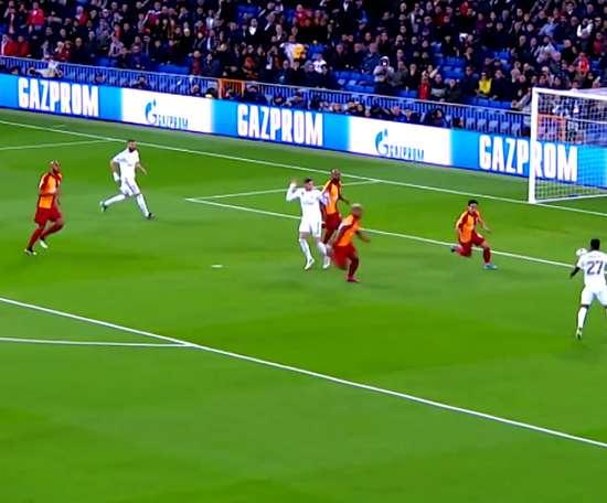 Marcelo e suas assistências na Champions 2019/20. DUGOUT