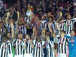 Juventus were far too good for Milan in the Coppa Italia final. DUGOUT