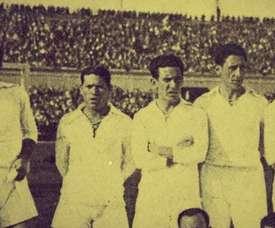 Real Madrid de 1934 bateu o Valencia por 2 a 1 e conquistou sua sexta Copa del Rey. DUGOUT
