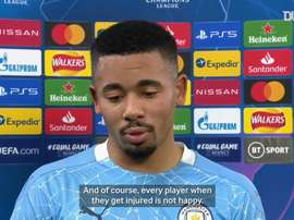 Gabriel Jesus delighted after scoring on return from injury. DUGOUT