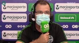 Enderson Moreira analisa derrota do Goiás para o Fluminense. DUGOUT