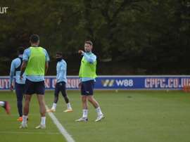 The pair are back in training. DUGOUT