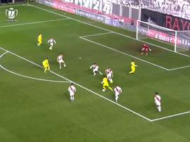 VÍDEO: el gol de Cazorla que sentenció al Rayo. Captua/Dugout