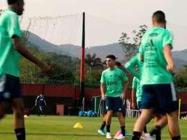 Flamengo se reapresenta e inicia preparação para Libertadores. DUGOUT