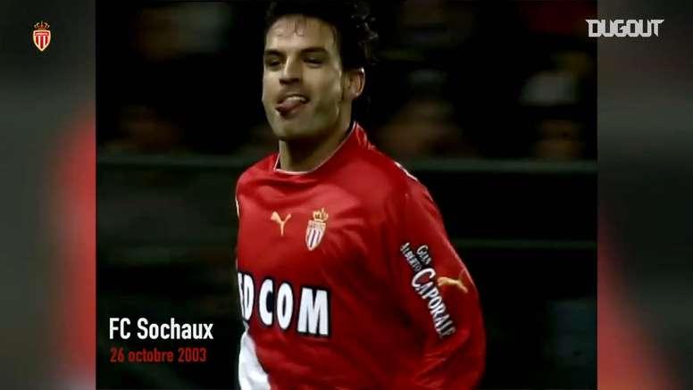 Fernando Morientes had a fantastic season for Monaco in 2003/04. DUGOUT