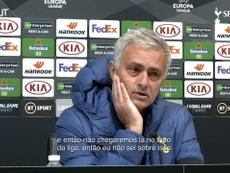 Mourinho falou sobre o jogo de hoje contra o Chelsea. DUGOUT
