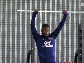 VIDEO: Olympique Lyonnais players are back in full training. DUGOUT