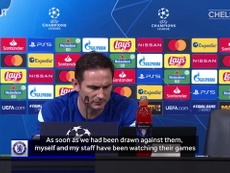 Frank Lampard knows Chelsea have a tough CL group. DUGOUT