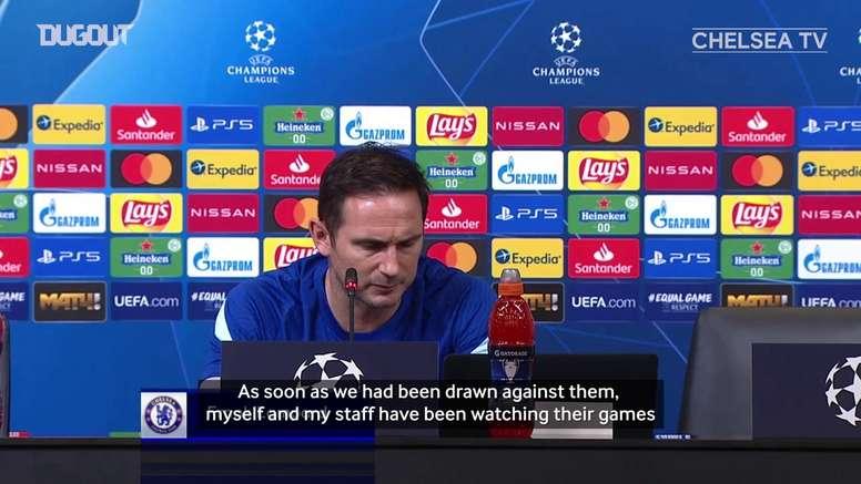 Frank Lampard knows Chelsea have a tough CL group. DUGOUT