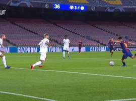 Pedri got his first Barcelona goal last week. DUGOUT