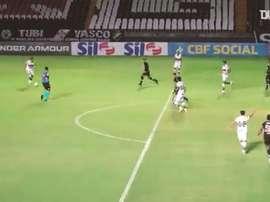 Com gol de Hugo Moura, Coritiba vence o Vasco em São Januário. DUGOUT